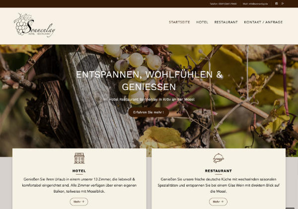 Referenz Hotel Sonnenlay GmbH